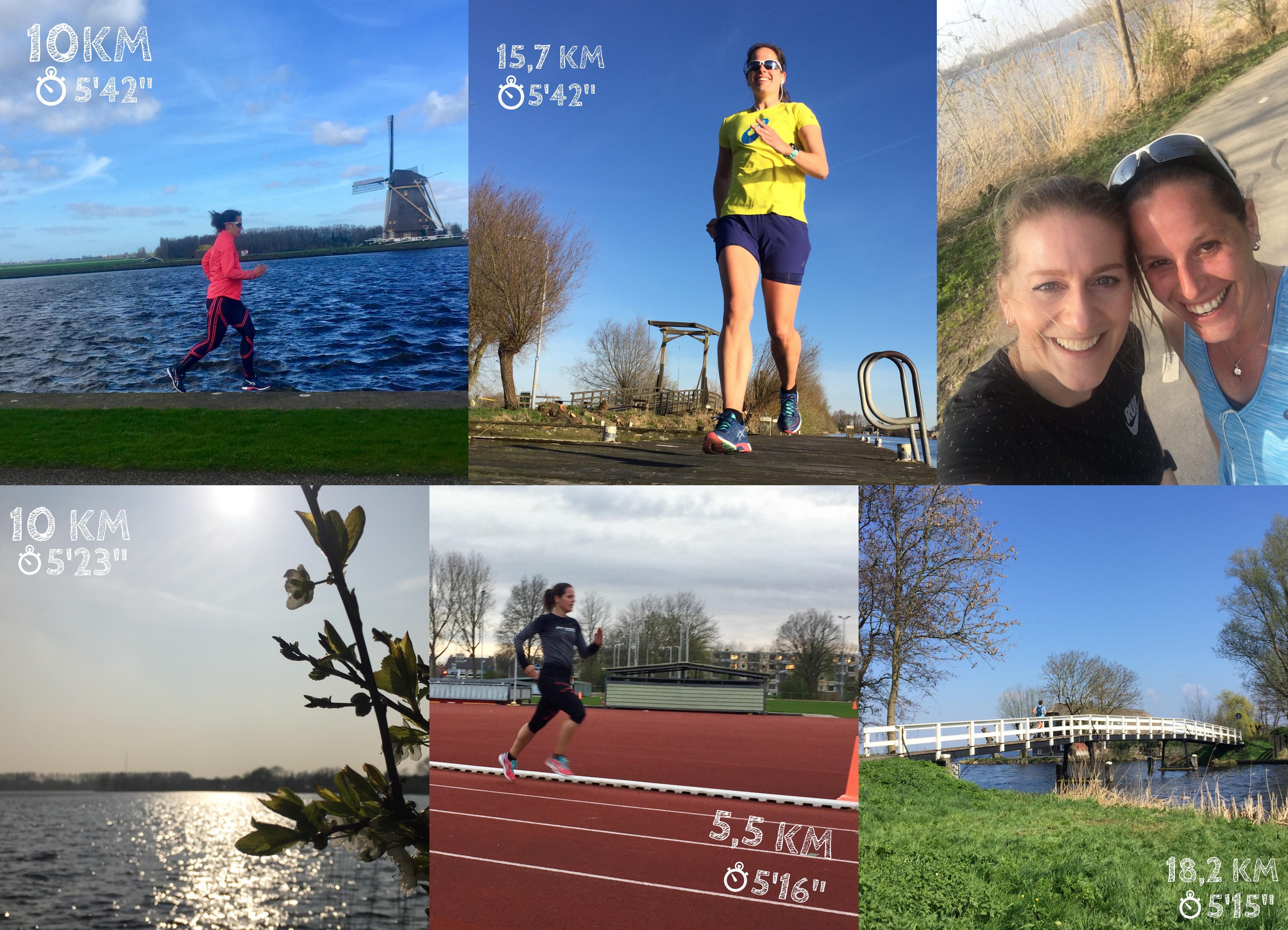 week 12 en 13 hardlopen