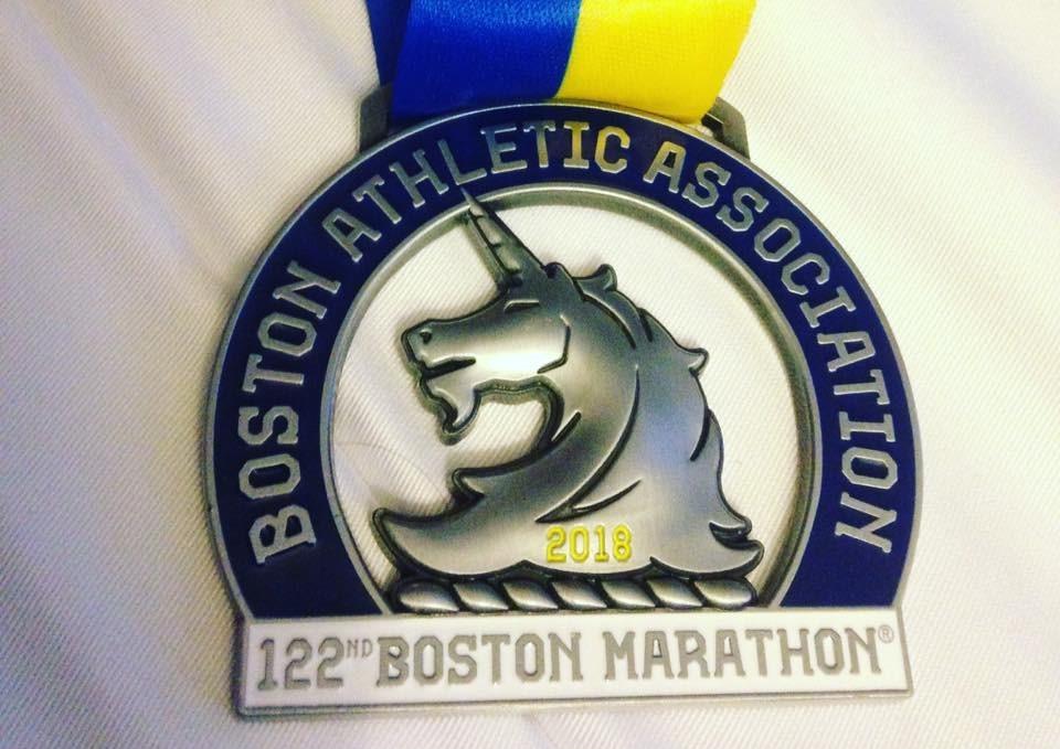 Boston Mara18 medal